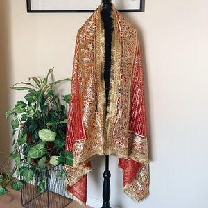 Beautiful Indian handmade sequins wall decor